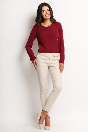 Bluza eleganta claret de dama Awama