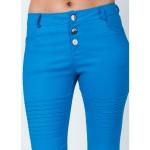 Pantaloni de dama albastri