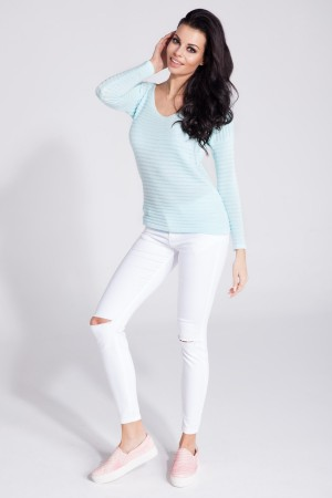 Bluza de dama casual-sport skyblue