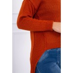 Pulover russet casual asimetric