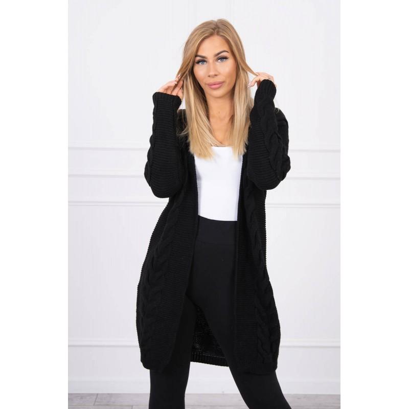 Cardigan dama Impletituri casual-clasic negru