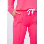 Trening dama roz neon sport din bumbac