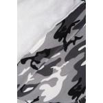 Rochie tip hanorac cu imprimeu army 9107-3