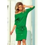 Rochie sport-casual lungime midi verde