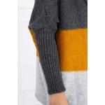 Cardigan scurt cu gluga tricotat 2019-15-1