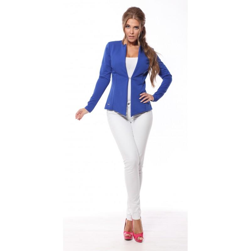 Sacou albastru dama elegant