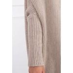 Cardigan bej de dama tricotat