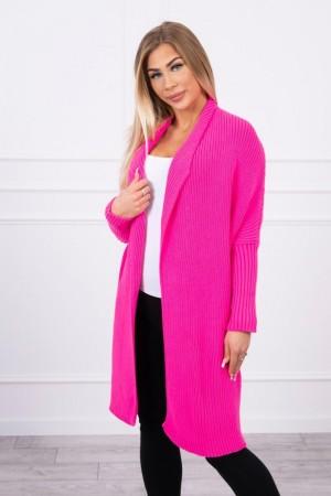 Cardigan tricotat casual Roz-Neon