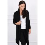 Cardigan dama negru tricotat