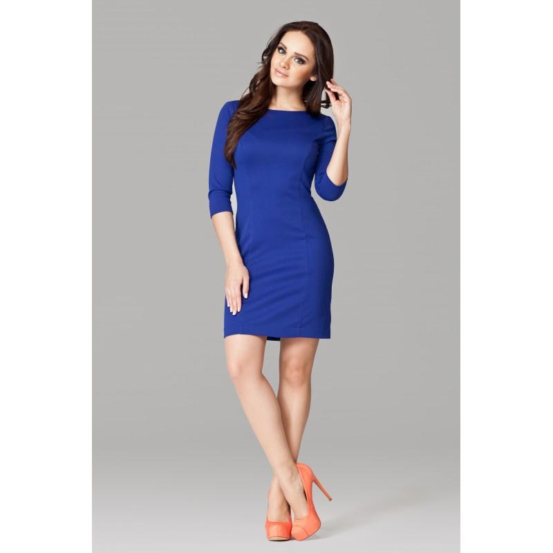 Rochie albastra eleganta Figl