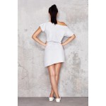 Rochie casual-sport alba İnfinite You