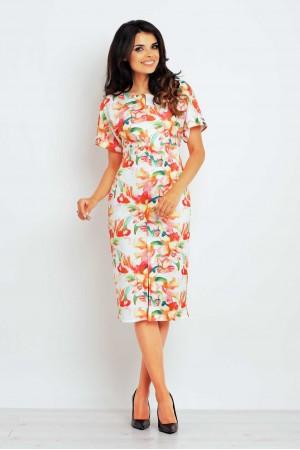 Rochie infiniteyou eleganta imprimeu floral M102-1